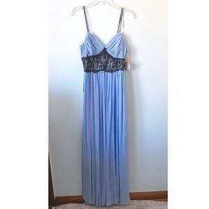 Dresses & Skirts - Blue Lace Prom Dress